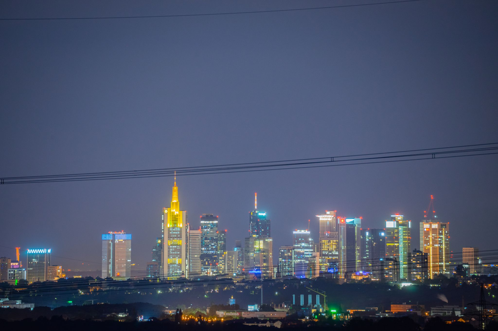 Frankfurt Skyline, Germany
