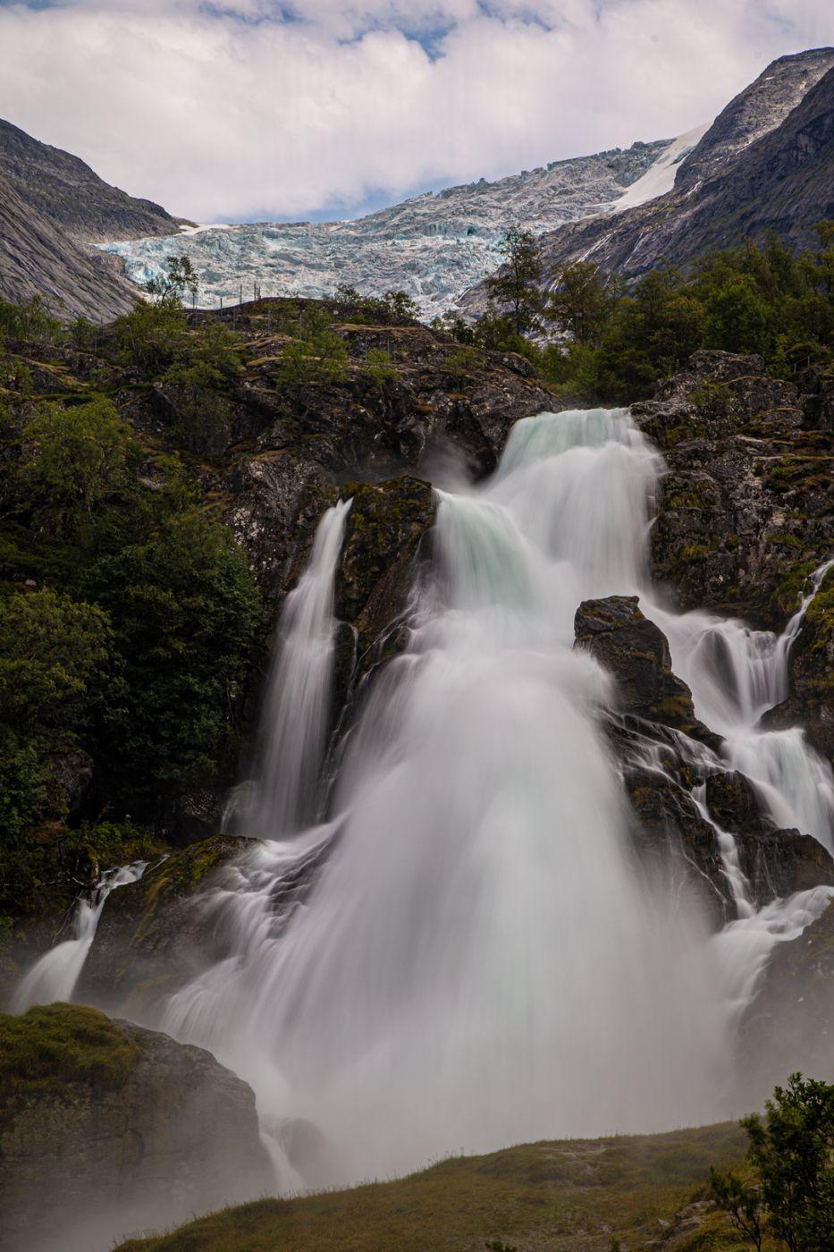 Kleivafossen, Norway