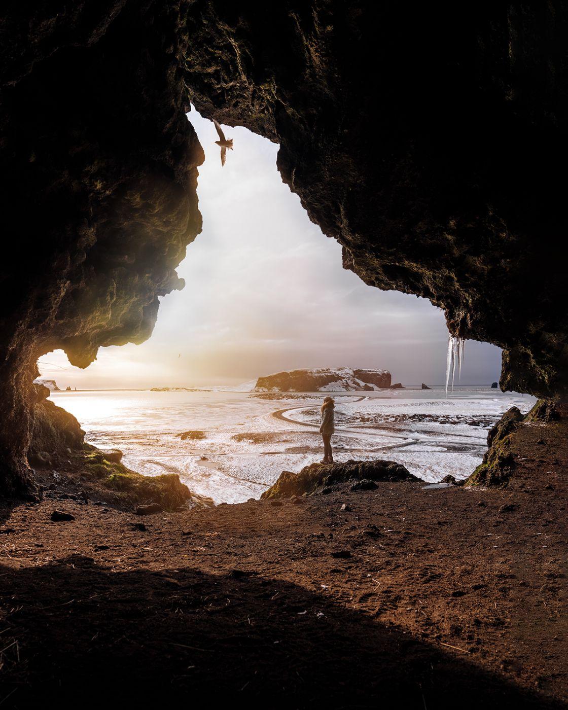 Loftsalahellir Cave, Iceland