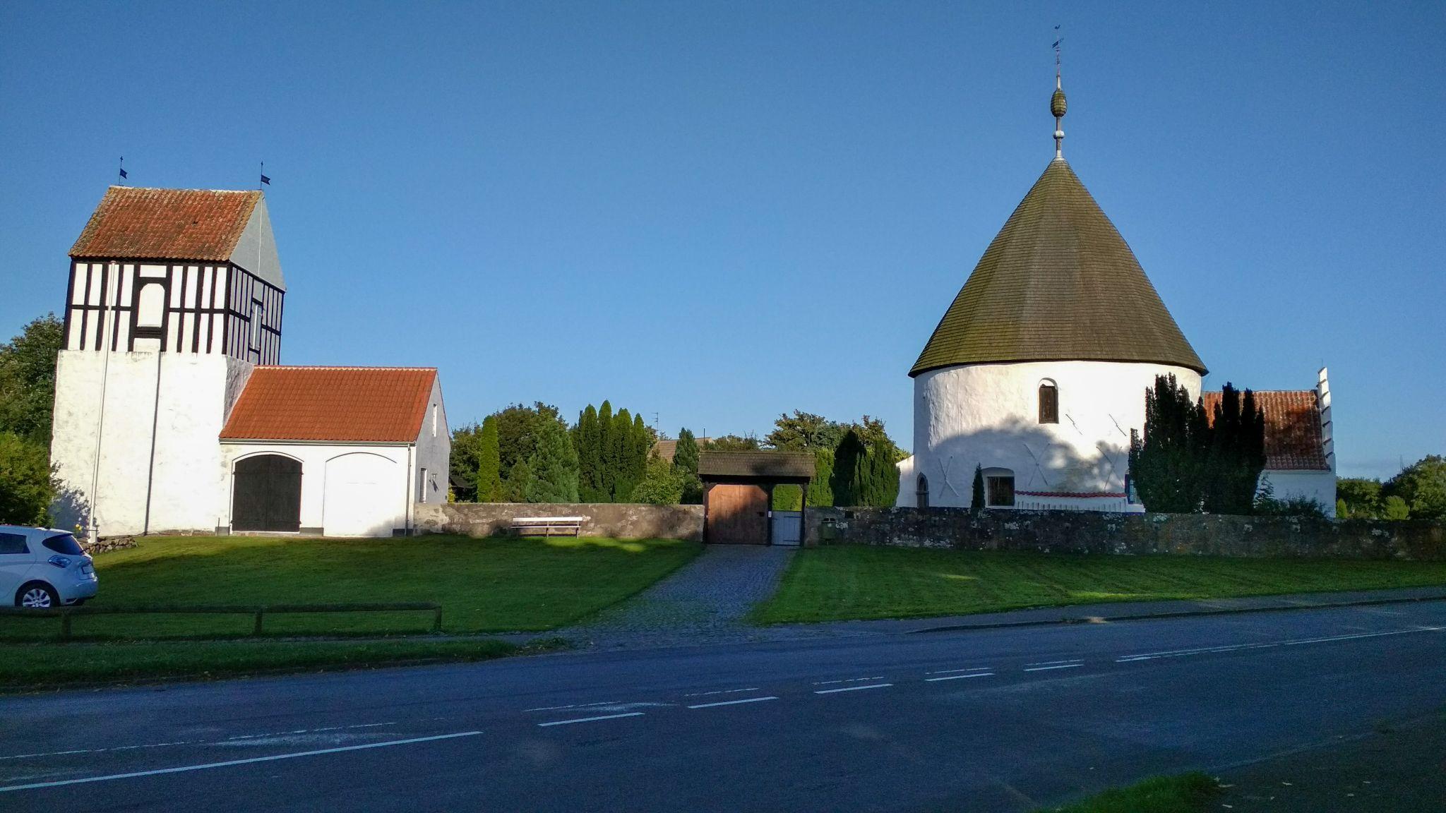 Nkyer Round Church, Denmark