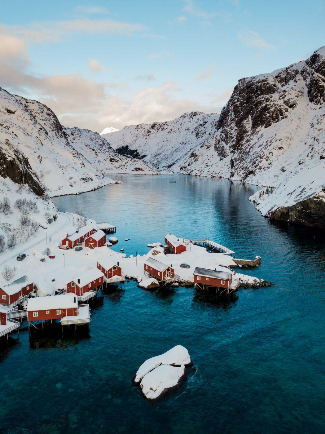 Nusfjord [Drone], Norway