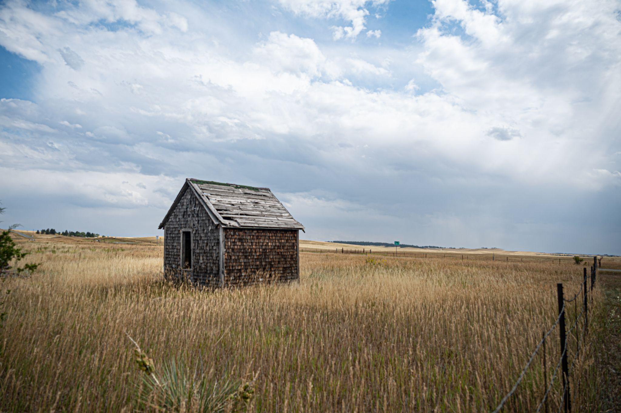 Prairie shack, USA