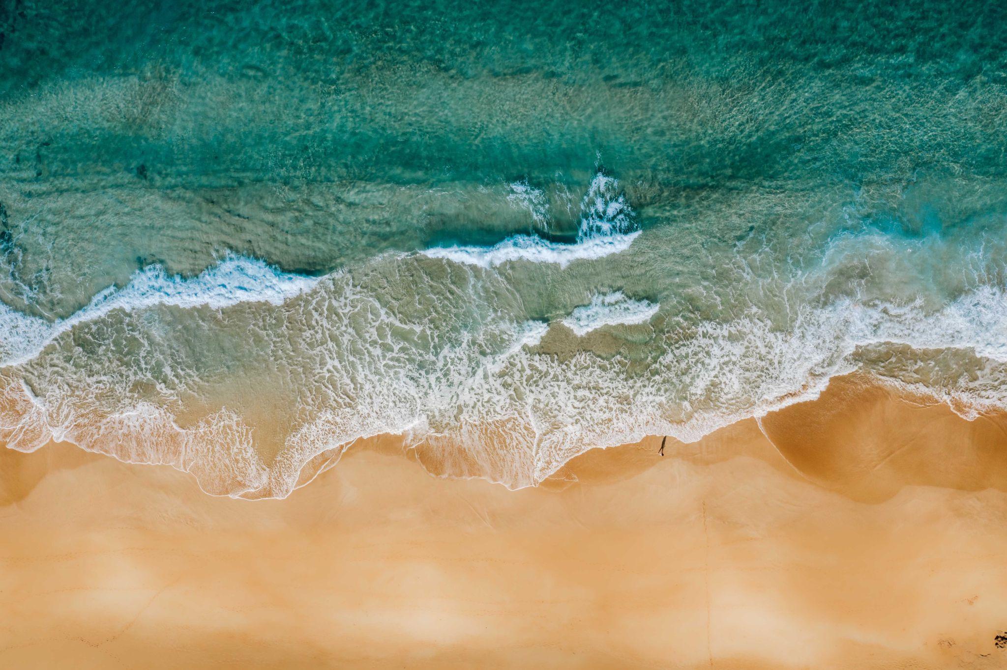 Sandy Beach [Drone], USA