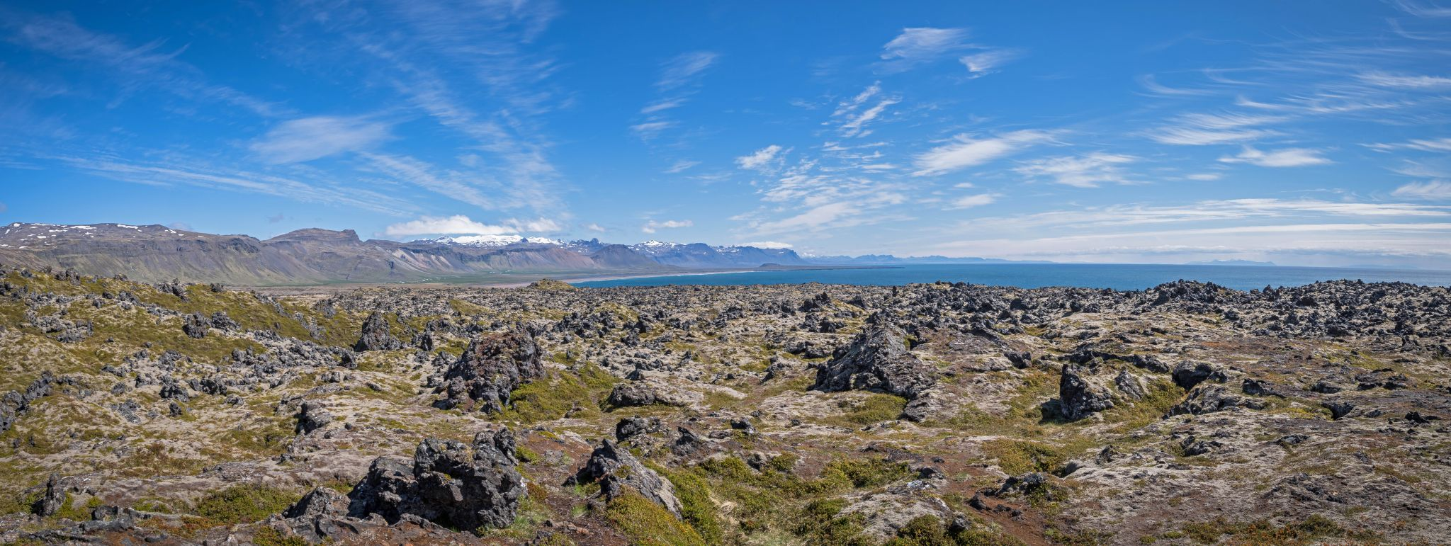 The (c)old lava and the sea, Iceland
