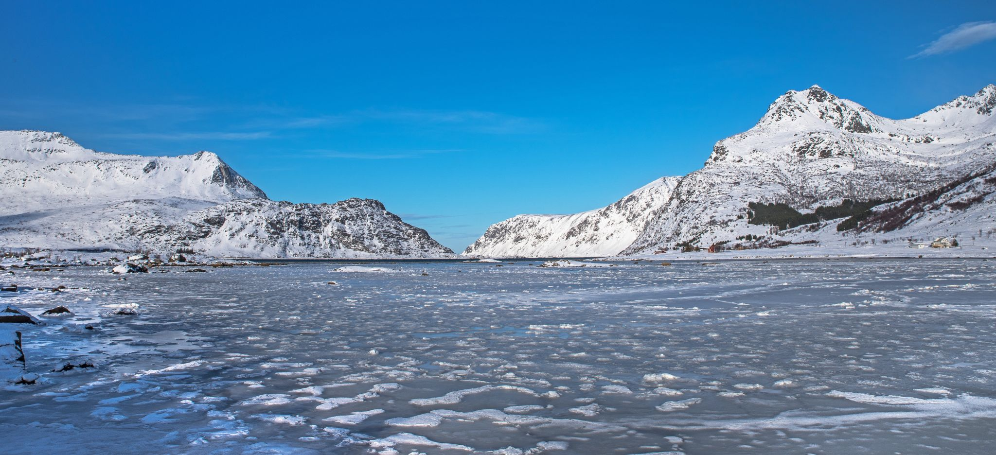 The Frozen Cove, Norway