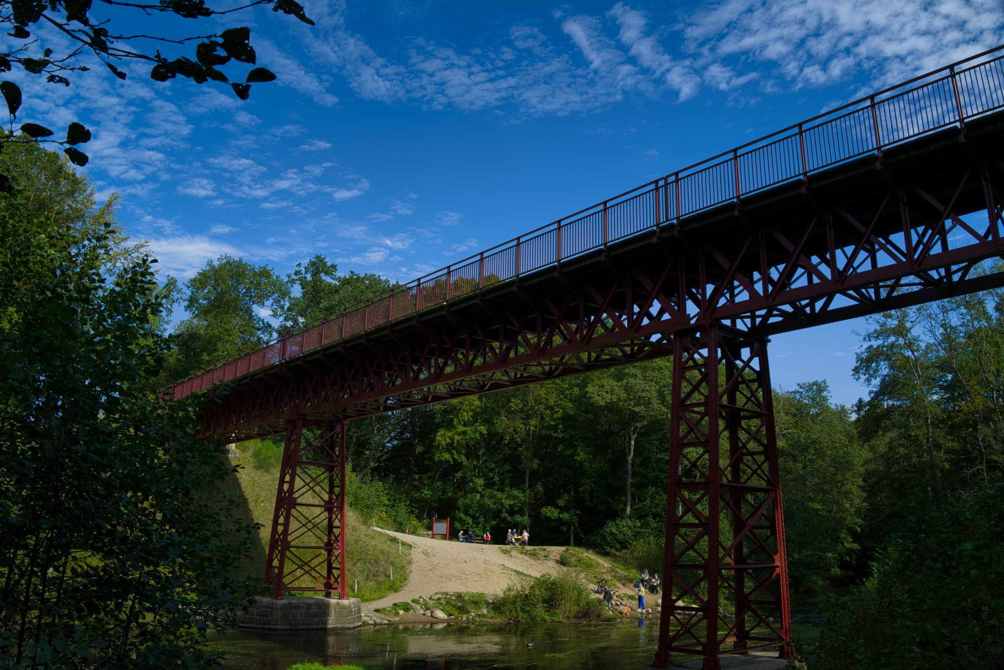 The recovered bridge, Denmark