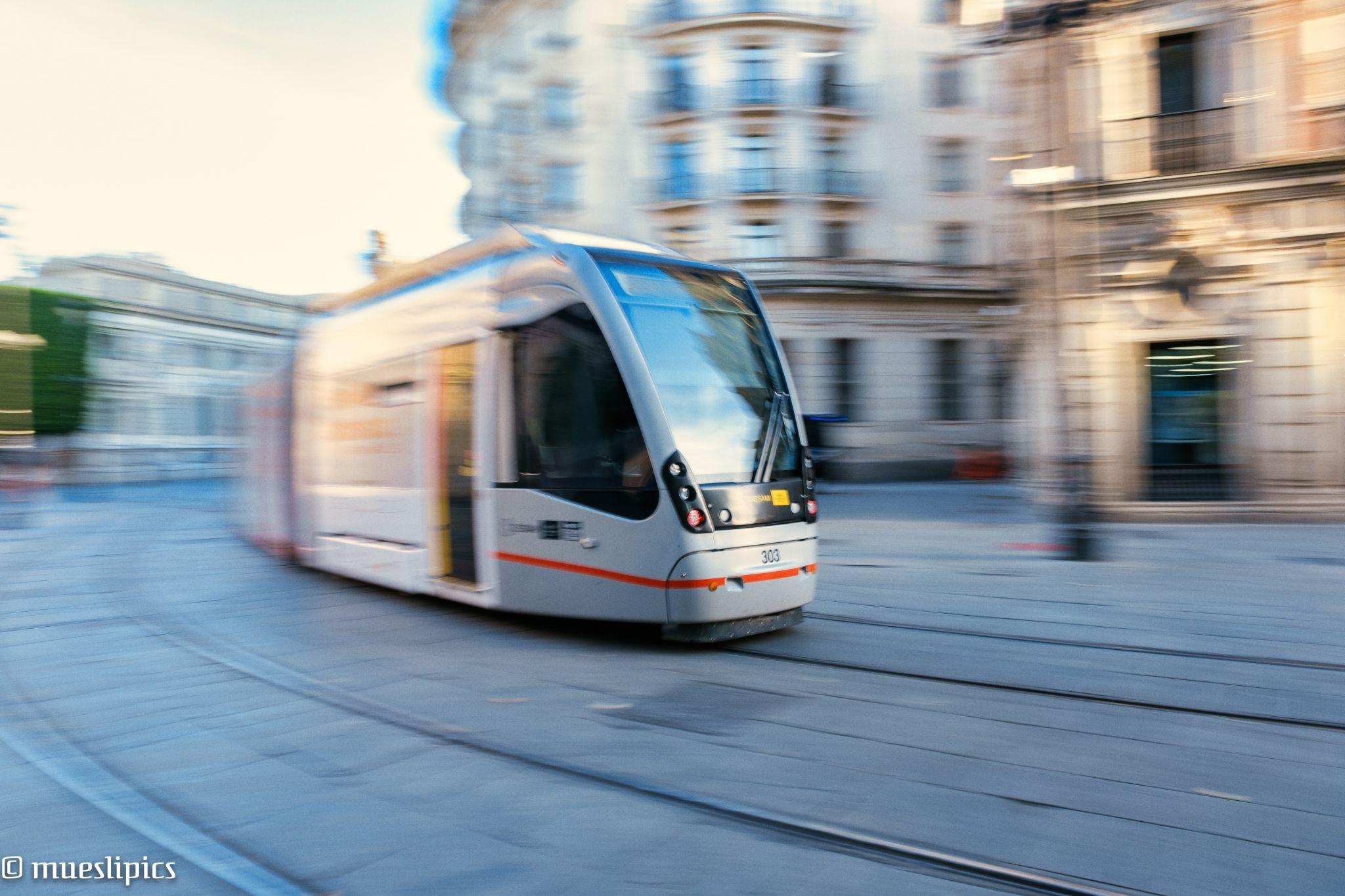Trams of Sevilla, Spain