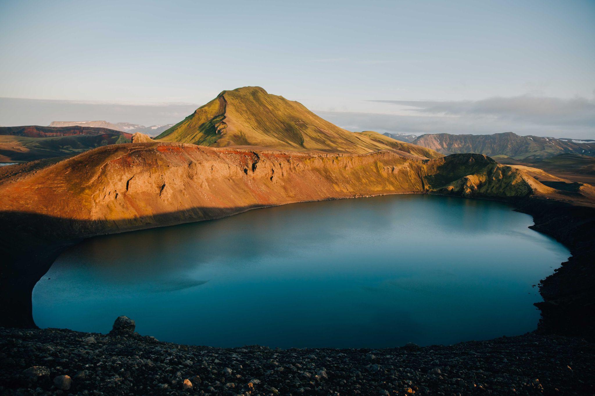 Bláhylur (Hnausapollur), Iceland