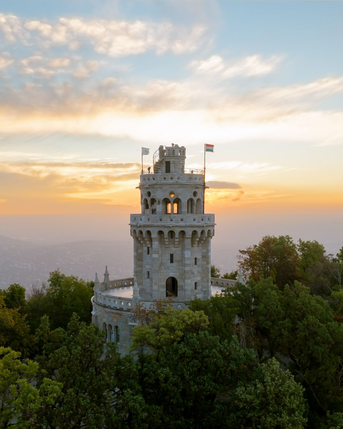 Erzsebet Lookout tower, Hungary