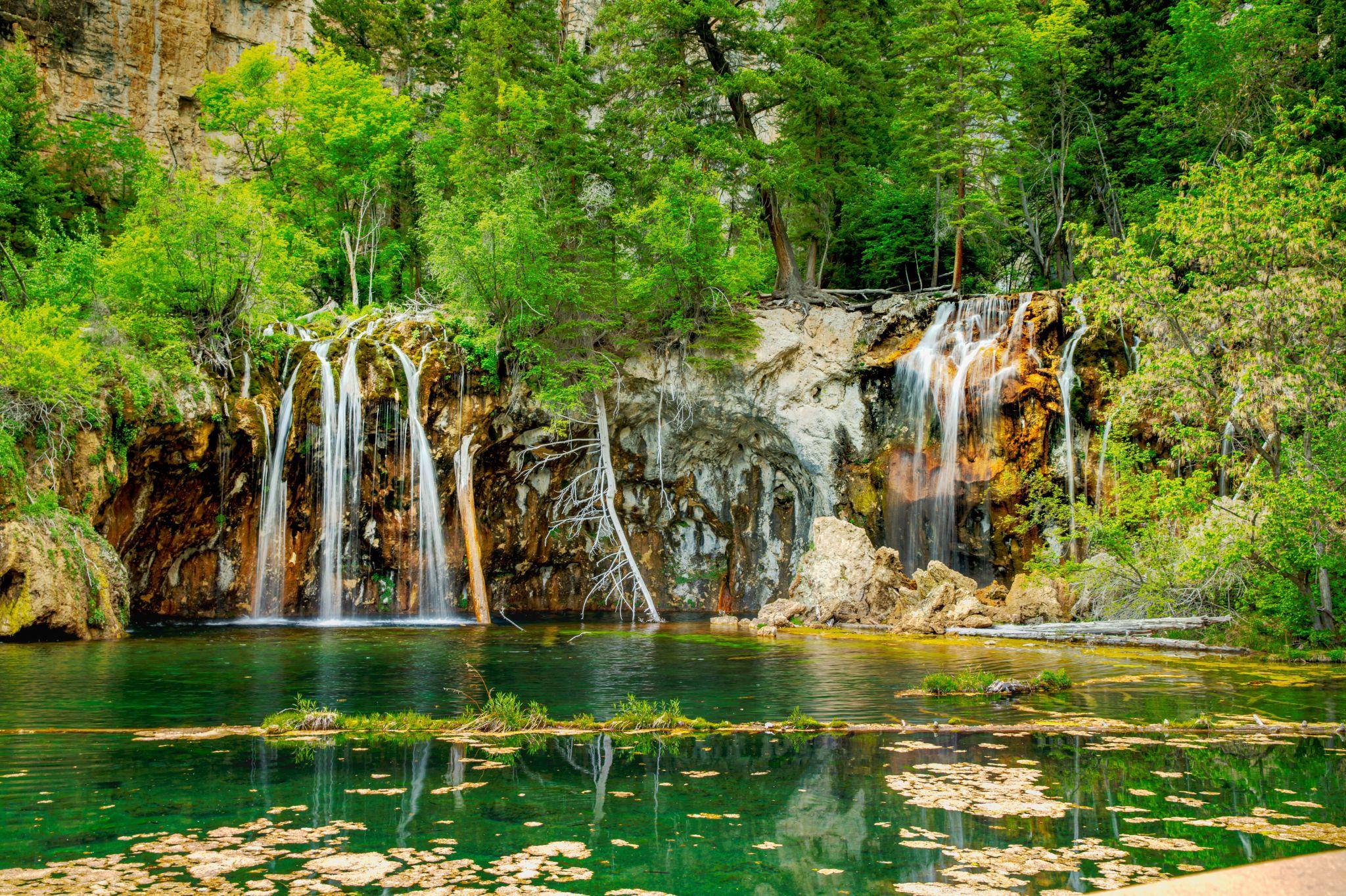 hanging lake, USA