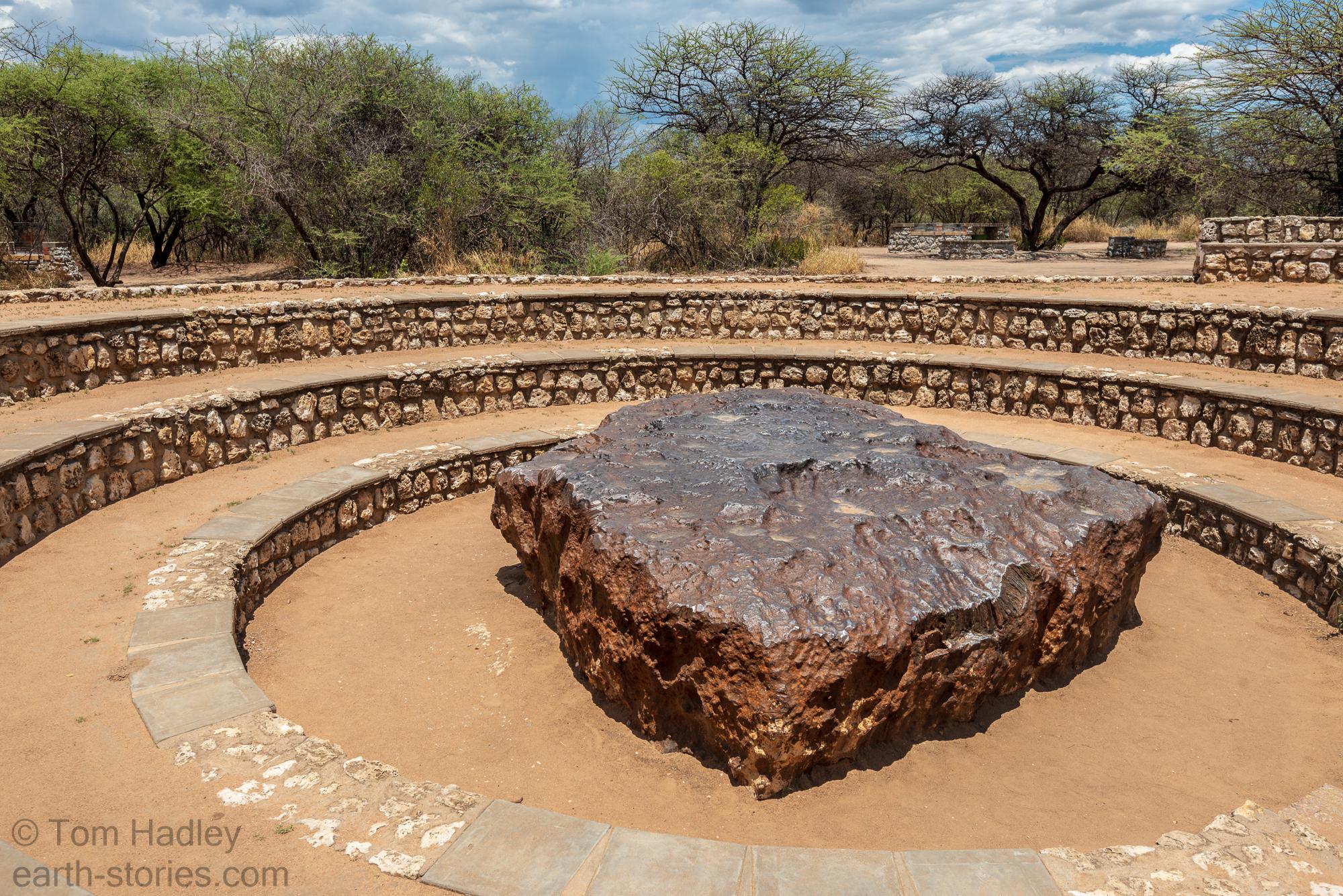 Hoba Meteorite, Namibia