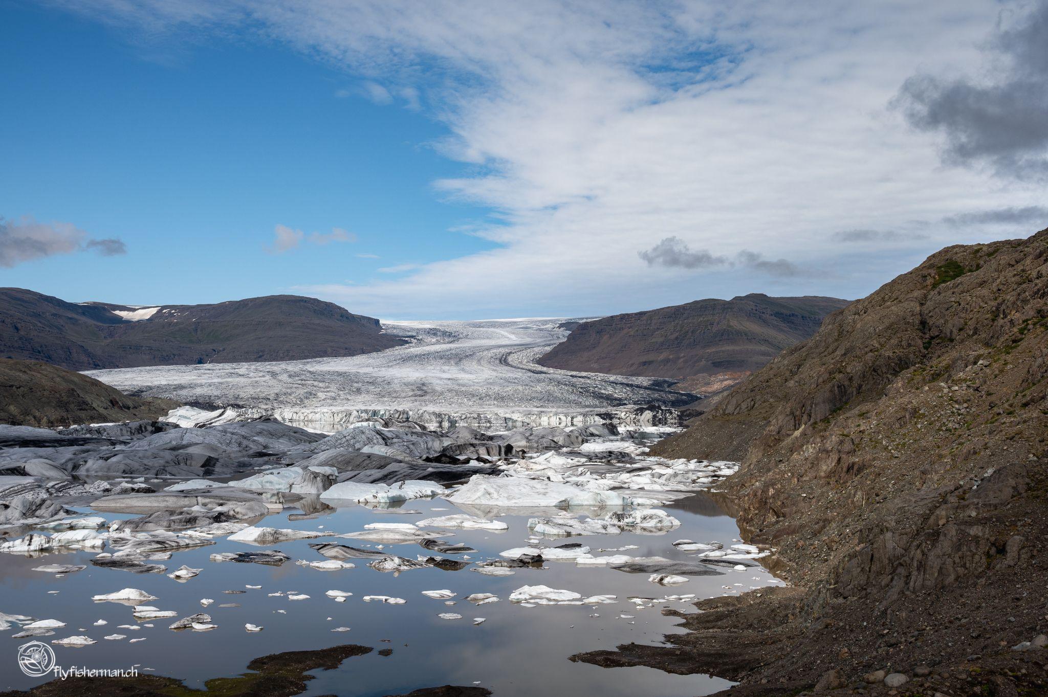 Hoffelljökull Glacier, Iceland