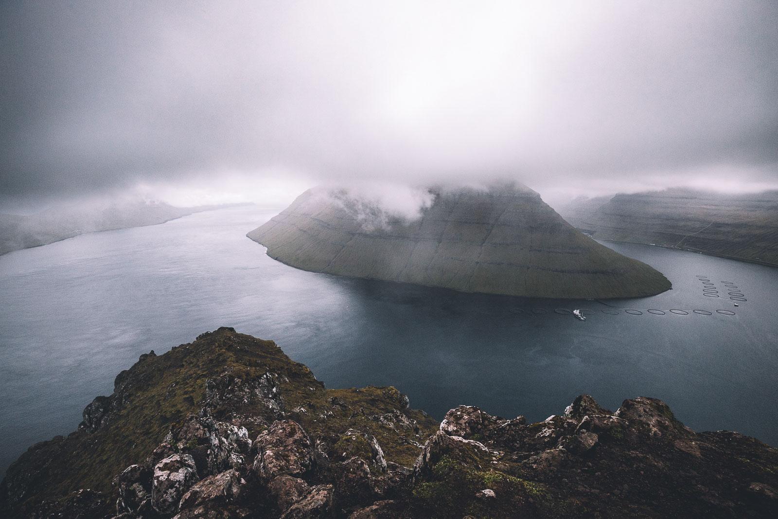 Klakkur near Klaksvik, Borðoy, Faroe Islands