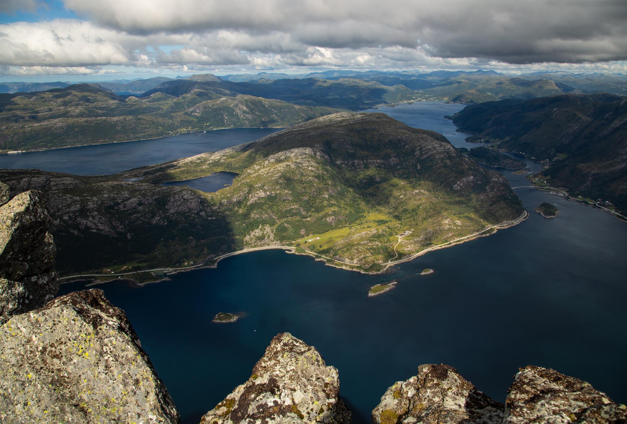 Mount Hornelen, Norway