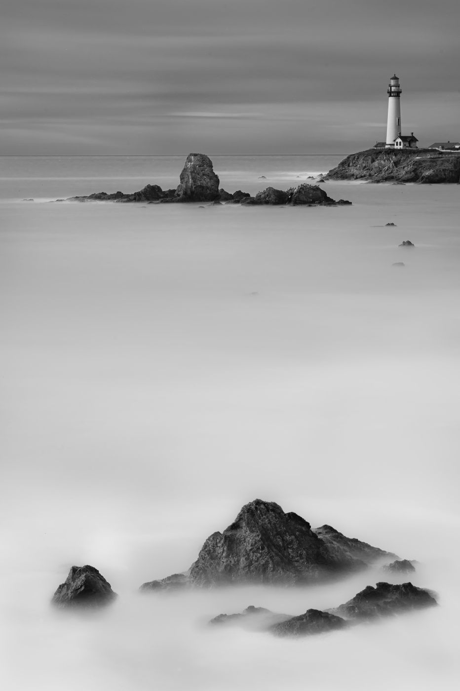 Pigeon point lighthouse, USA