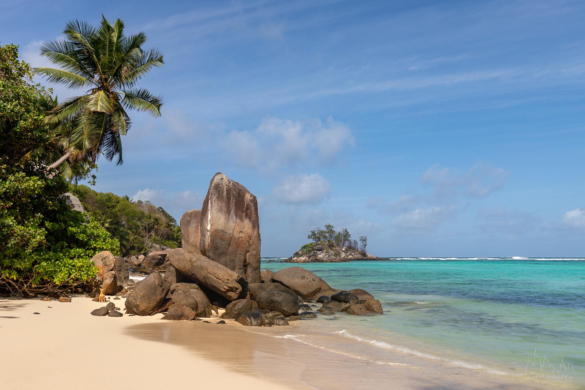 Relax Beach on Mahé, Seychelles, Seychelles