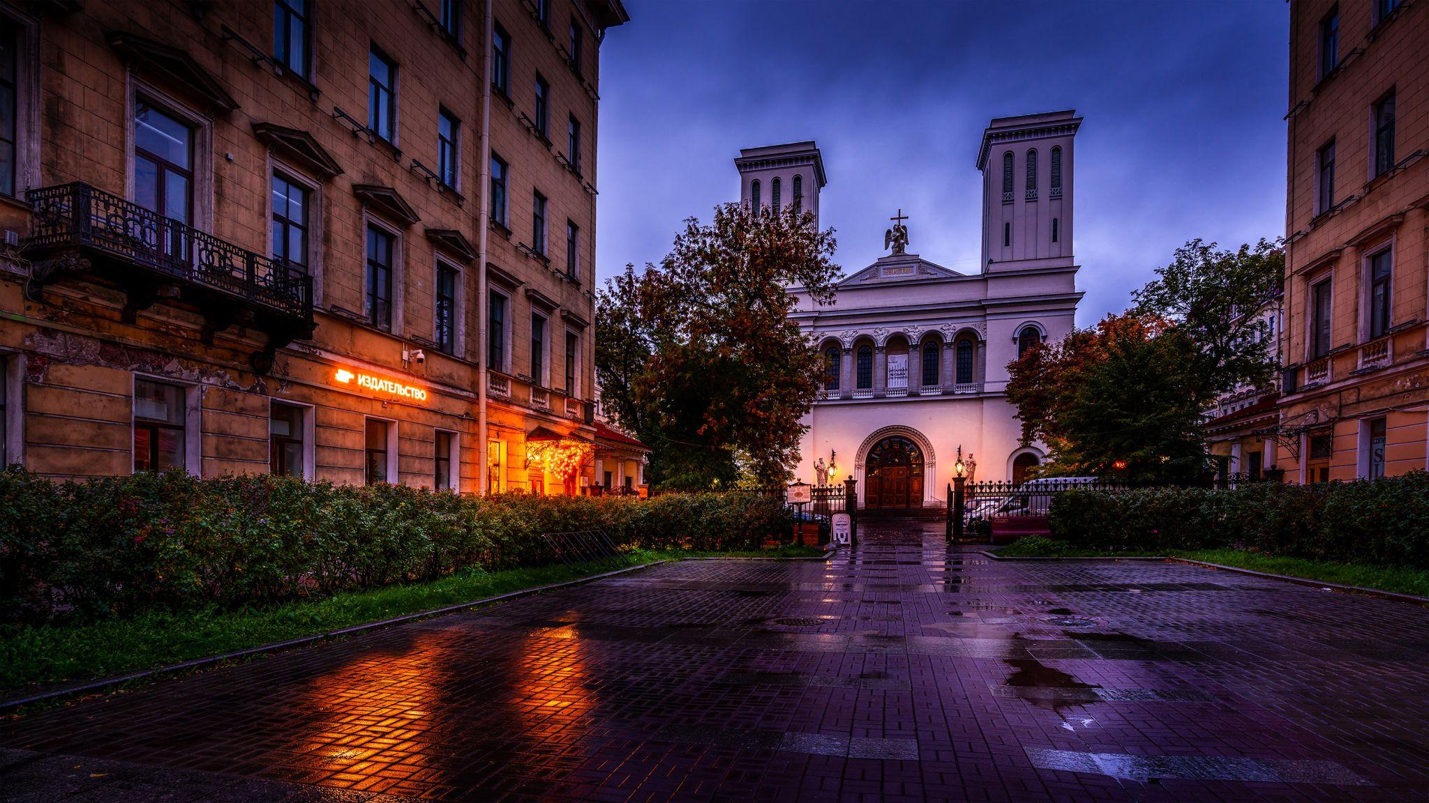 Saint Peter's Church on Nevsky Prospekt, Russian Federation