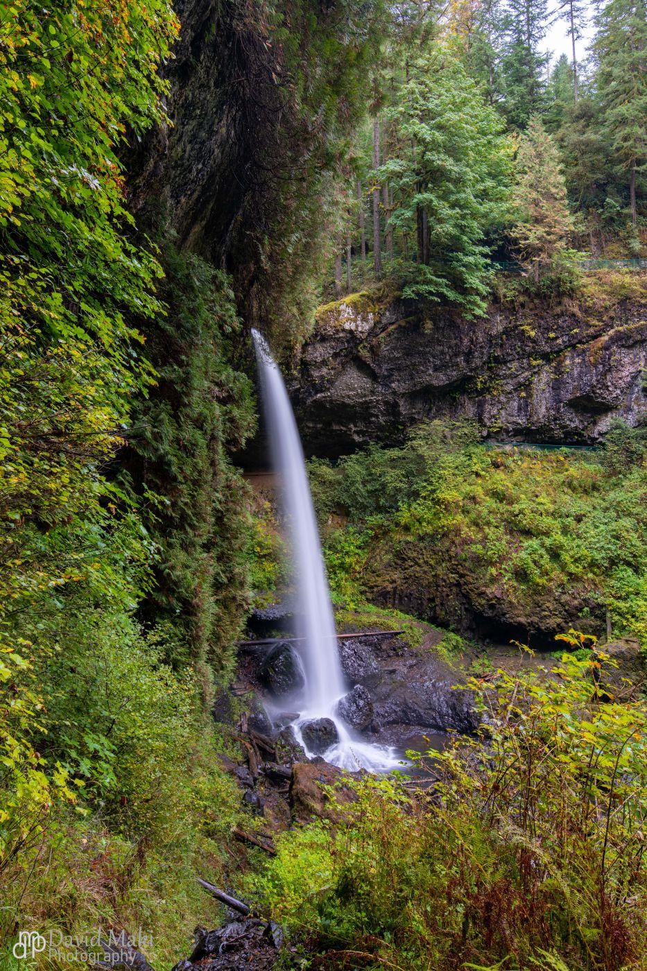 Silver Falls North Falls, USA