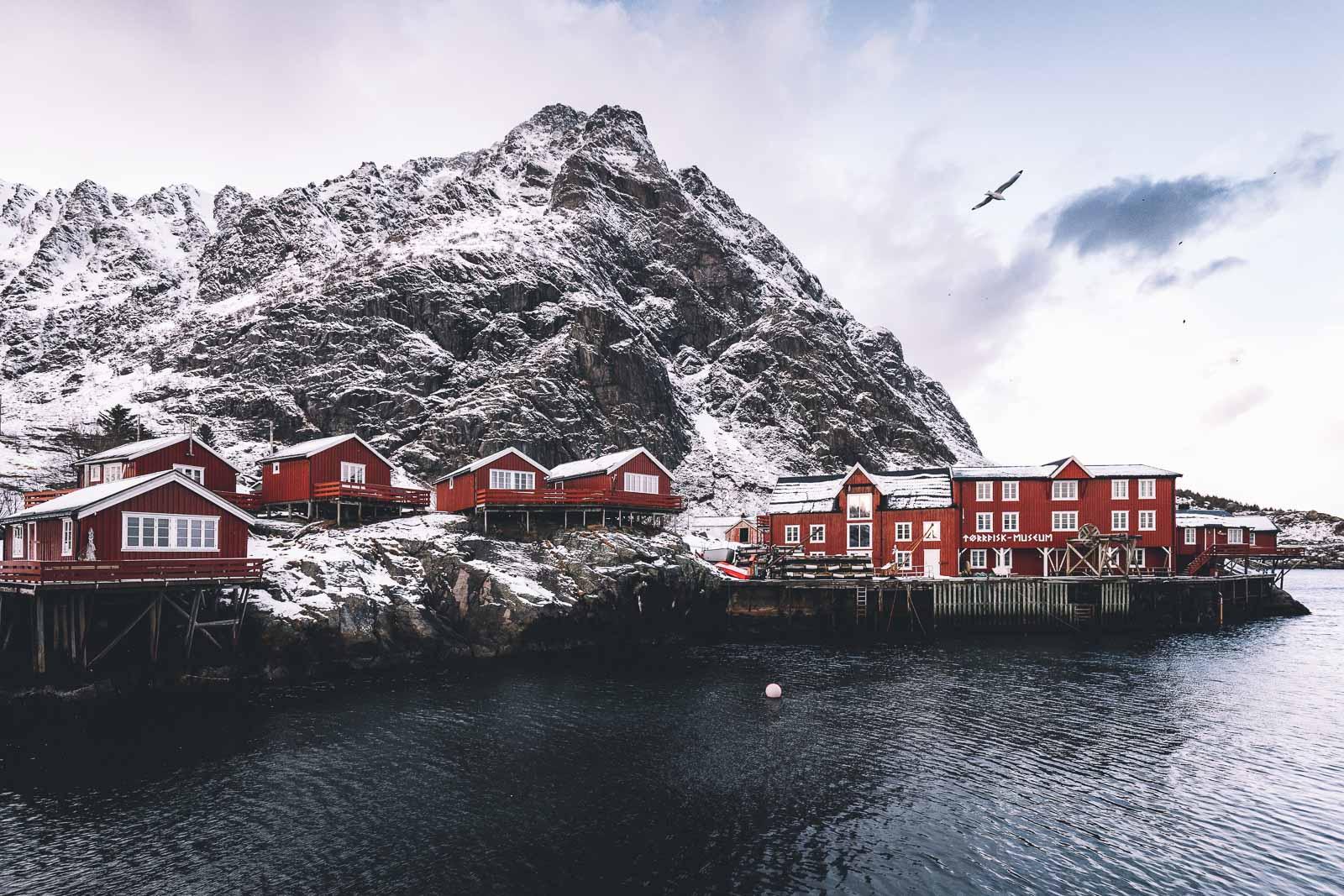 Utsiktspunkt, Å i Lofoten, Norway